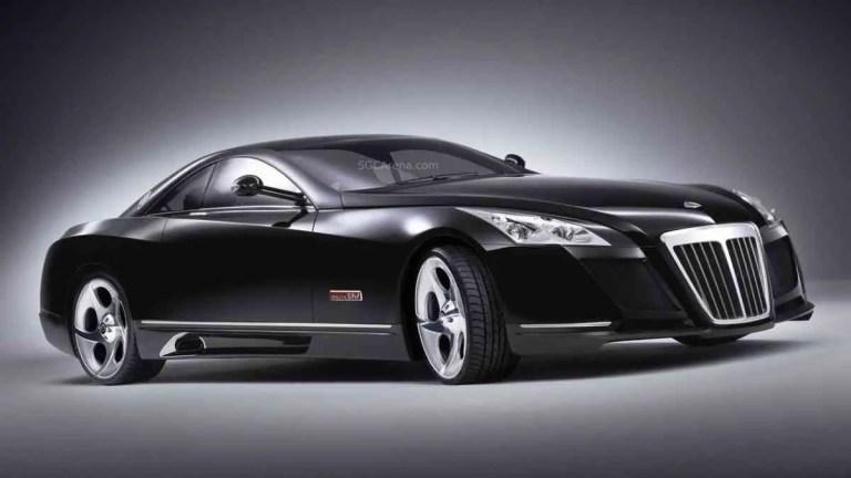 Maybach Exelero Sports Car Mod BUSSID