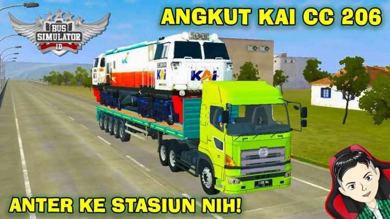 Hino 700 Angkut Kai CC 206 Mod BUSSID
