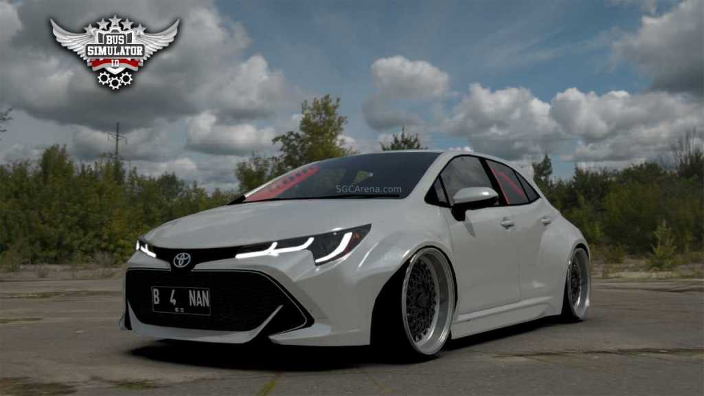 Download Toyota Corolla Mod for BUSSID, Toyota Corolla, BUSSID Car Mod, BUSSID Vehicle Mod, Toyota, Zilla