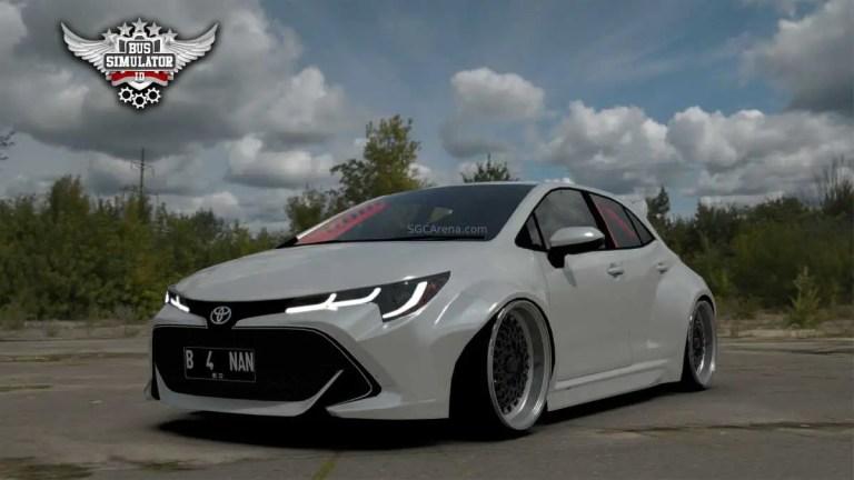 Toyota Corolla Mod for BUSSID