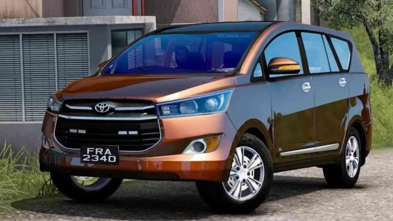 Toyota Innova Crysta 2016 Mod BUSSID
