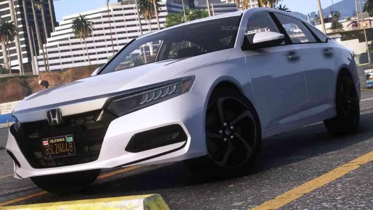 2020 Honda Accord 2.0T Sport Mod for BUSSID