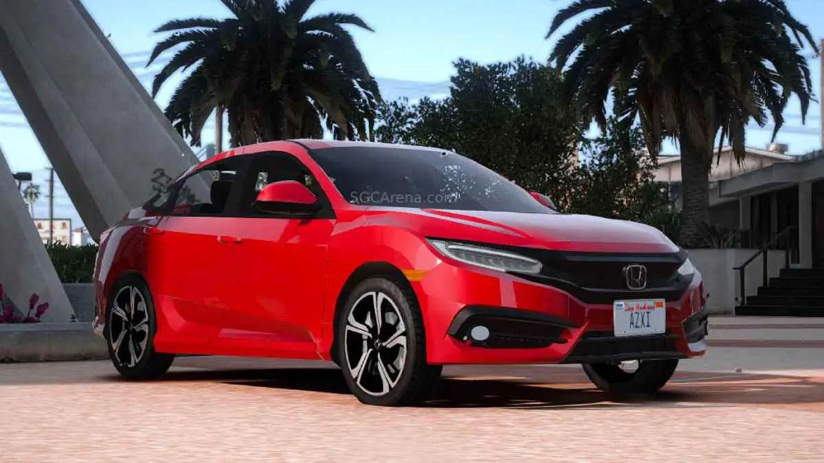 Download Honda Civic FC 2016 Car Mod BUSSID, Honda Civic FC 2016, BUSSID Car Mod, BUSSID Vehicle Mod, Honda, HONDA CIVIC Mod, MAH Channel