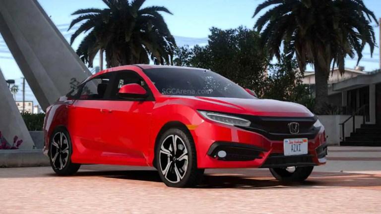 Honda Civic FC 2016 Car Mod BUSSID
