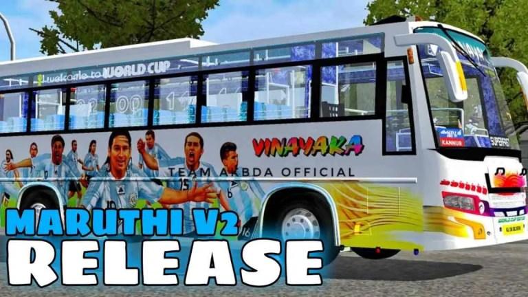 Maruthi V2 Bus Mod BUSSID