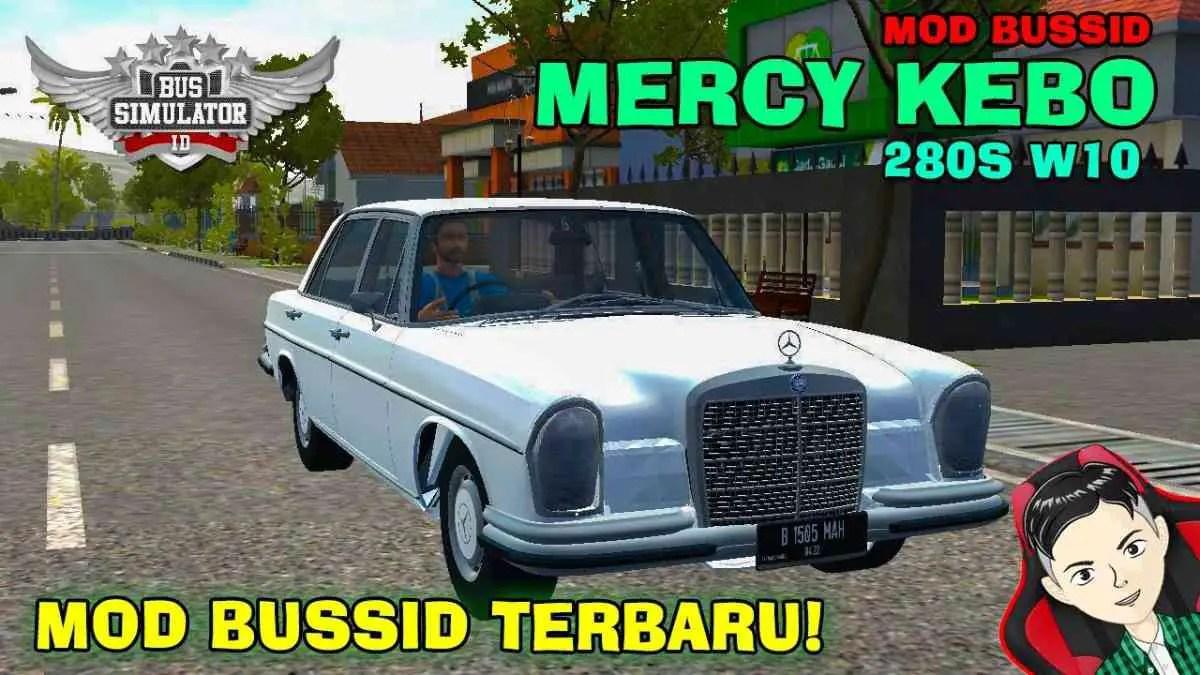 Download Mercedes-Benz 280S W108 Car Mod BUSSID, Mercedes-Benz 280S W108, BUSSID Car Mod, BUSSID Vehicle Mod, MAH Channel, Mercedes Benz