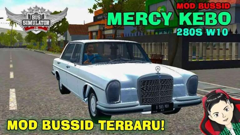 Mercedes-Benz 280S W108 Car Mod BUSSID