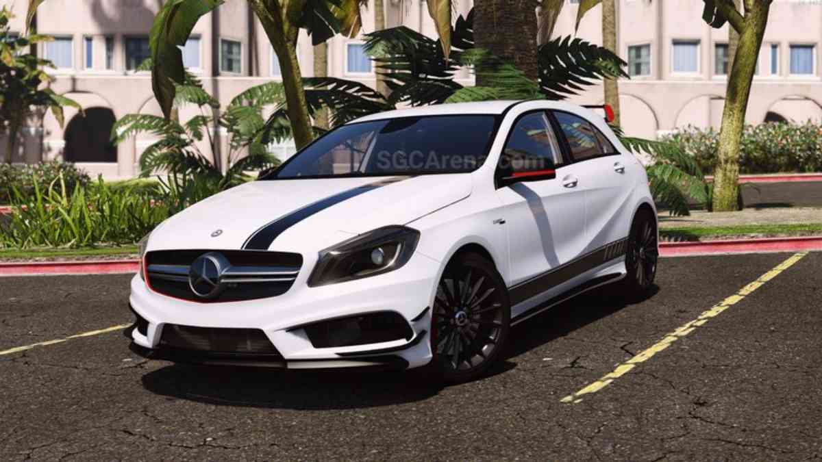 Download Mercedes-Benz Classe A45 AMG Mod BUSSID, Mercedes-Benz Classe A45 AMG, BUSSID Car Mod, BUSSID Vehicle Mod, MAH Channel, Mercedes Benz