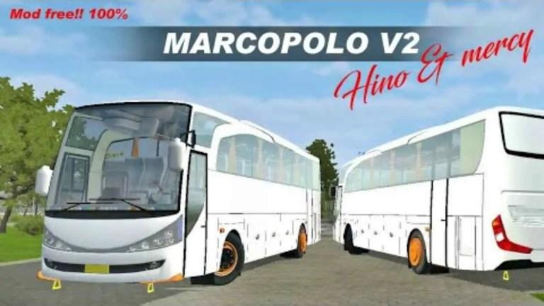 Marcopolo V2 Bus Mod BUSSID