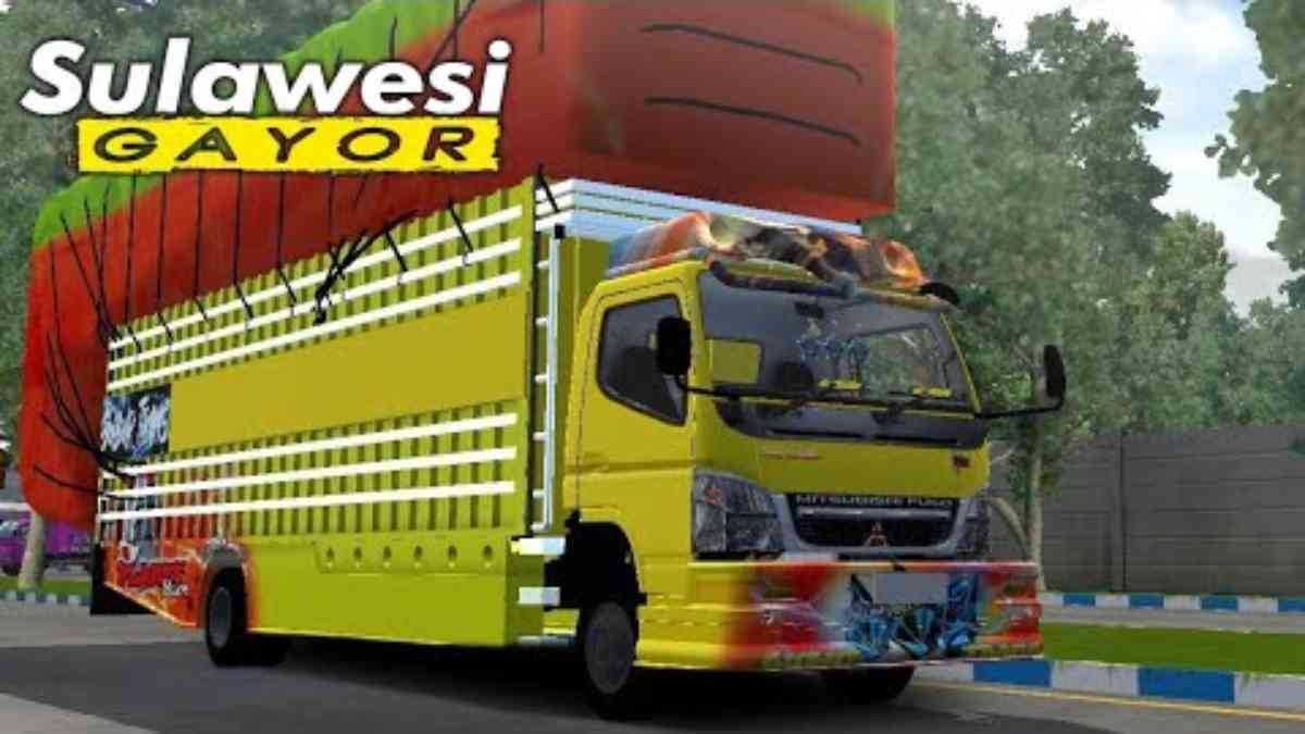 Download Canter Sulawesi V2 Truck Mod BUSSID, Canter Sulawesi, B Project, BUSSID Truck Mod, BUSSID Vehicle Mod, CANTER Mod for BUSSID