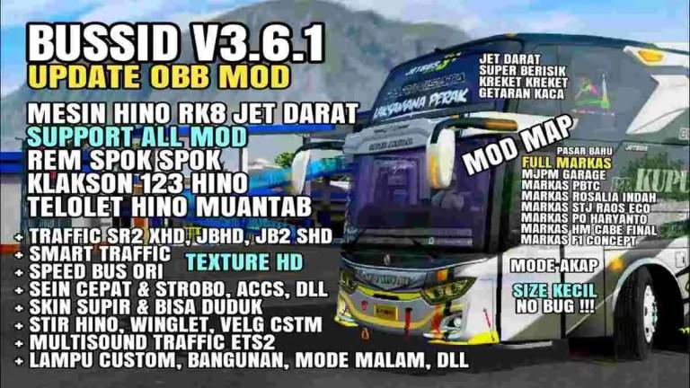 Download BUSSID V3.6.1 Hino RK8 Jet Darat Obb Mod, BUSSID V3.6.1 Hino RK8 Jet Darat Obb Mod, BUSSID OBB Mod, BUSSID V3.6 Obb, Famnuery