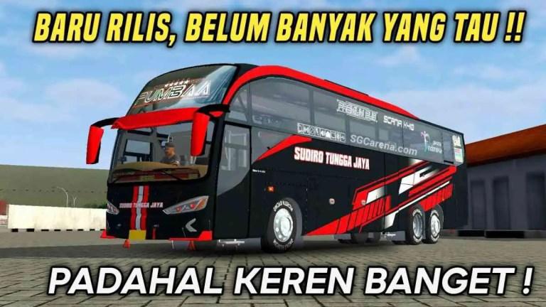 Evolander SHD Tronton Bus Mod BUSSID