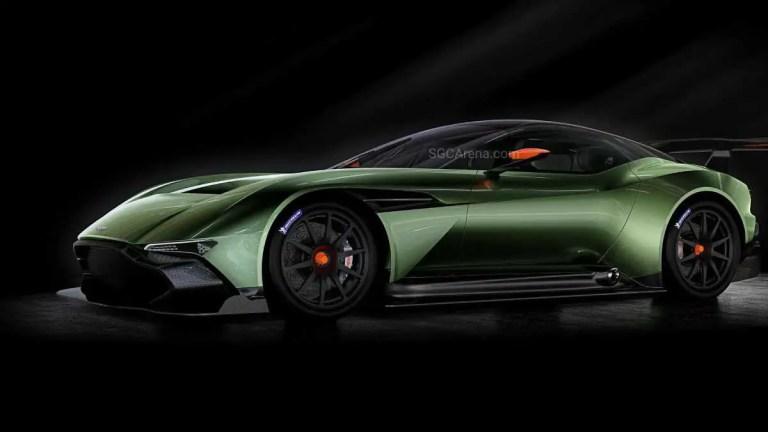 Aston Martin Vulcan Car Mod BUSSID
