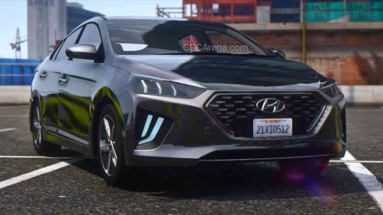 Hyundai Ioniq Hybrid Car Mod BUSSID