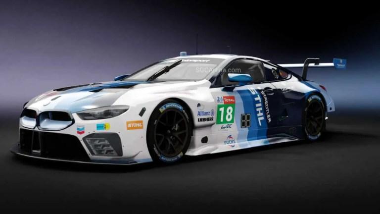 BMW M8 GTE Car Mod BUSSID