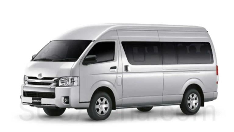 Toyota Hiace Commuter Mod BUSSID