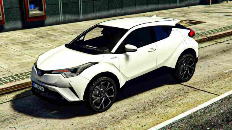 Toyota C-HR 2017 Mod BUSSID