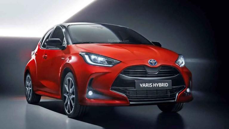 Toyota Yaris Hybrid 2020 Car Mod BUSSID