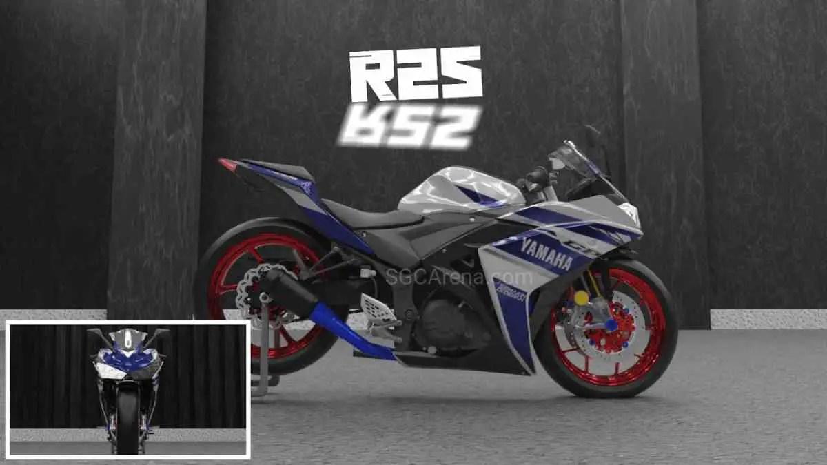 Download Yamaha YZF-R25 Mod BUSSID, Yamaha YZF-R25, AZUMODS, BUSSID Bike Mod, BUSSID Vehicle Mod, Yamaha