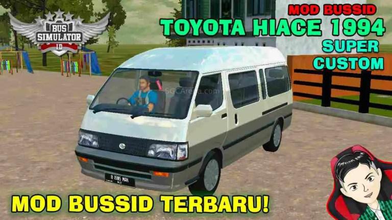 1994 Toyota HiAce Super Custom Mod BUSSID