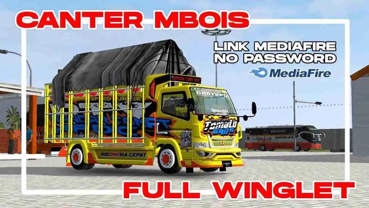 Download Isuzu Canter Mbois Mod BUSSID, Isuzu Canter Mbois, BUSSID Truck Mod, BUSSID Vehicle Mod, Fam8os, Isuzu, Mod CANTER