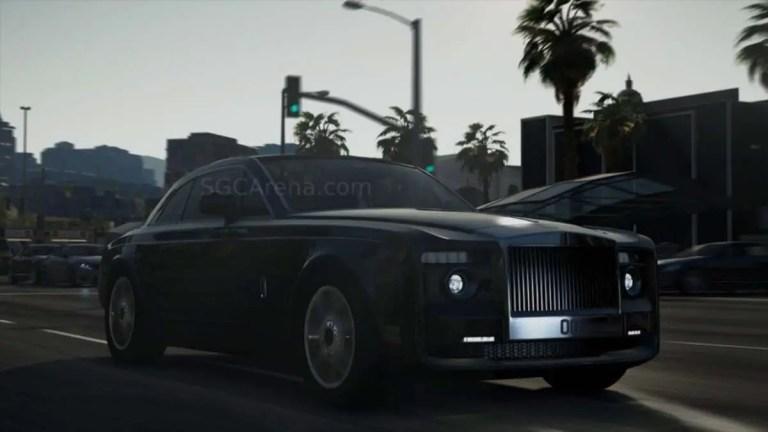 Rolls-Royce Sweptail Mod BUSSID