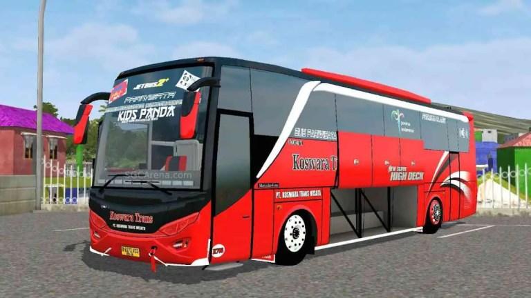 Jetbus 2+ HD Bus Mod BUSSID