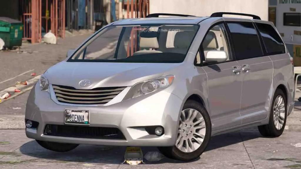 Download 2017 Toyota Sienna Mod BUSSID, 2017 Toyota Sienna, BUSSID Car Mod, BUSSID Vehicle Mod, MAH Channel, Toyota