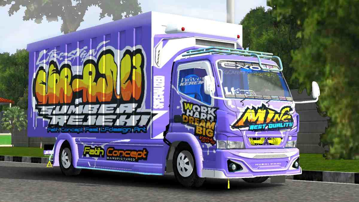 Download Canter Box Mboiss Mod BUSSID, Canter Box Mboiss, BUSSID Truck Mod, BUSSID Vehicle Mod, Fatih Concept, Mod Canter Box