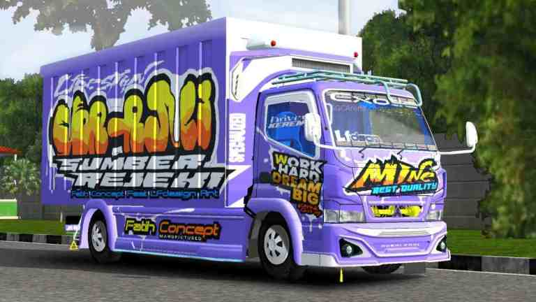 Canter Box Mboiss Mod BUSSID