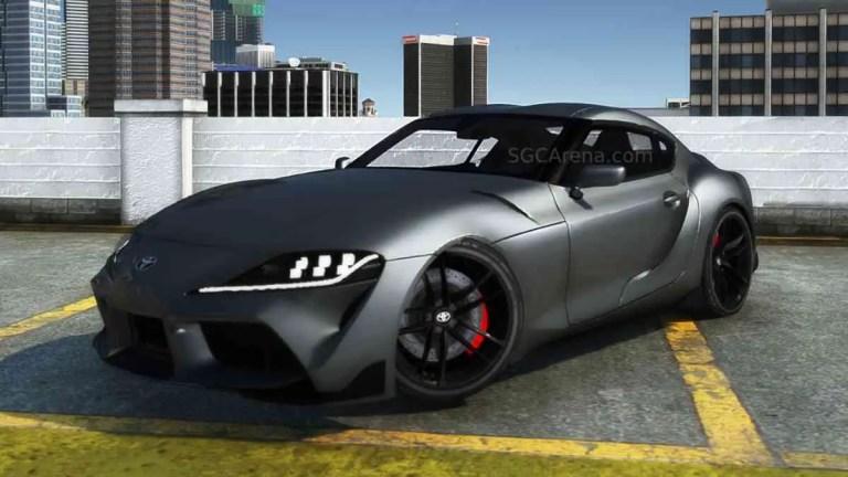 2020 Toyota Supra GR A90 Mod BUSSID