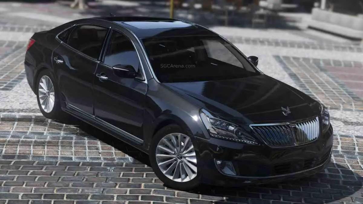 Download 2015 Hyundai Equus VS500 Mod BUSSID, 2015 Hyundai Equus VS500, BUSSID Car Mod, BUSSID Vehicle Mod, Hyundai, MAH Channel