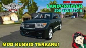 Download 2015 Toyota Land Cruiser 200 Zeus Mod BUSSID, 2015 Toyota Land Cruiser 200 Zeus, BUSSID Car Mod, BUSSID Vehicle Mod, Land Cruiser, MAH Channel, Toyota