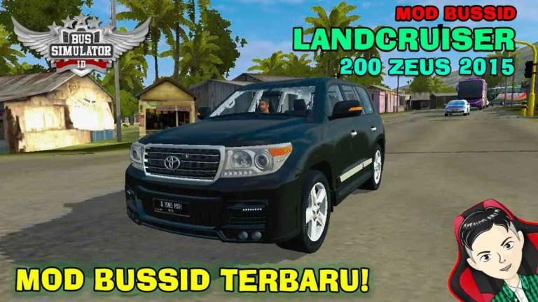 2015 Toyota Land Cruiser 200 Zeus Mod BUSSID