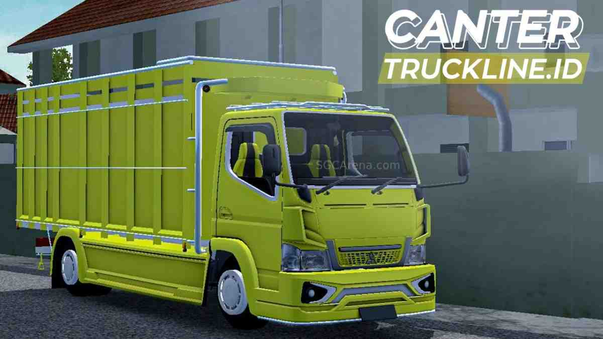 Download Mitsubishi Canter N3 Mod BUSSID, Mitsubishi Canter N3, ALDOVADEWA, BUSSID Car Mod, BUSSID Vehicle Mod, Mitsubishi, Mod CANTER