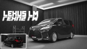 Download 2021 Lexus LM Mod BUSSID, 2021 Lexus LM, AZUMODS, BUSSID Car Mod, BUSSID Vehicle Mod, Dasep Pratama, Lexus