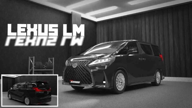 2021 Lexus LM Mod BUSSID