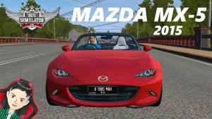 Download Mazda MX-5 2015 Mod BUSSID, Mazda MX-5 2015, BUSSID Car Mod, BUSSID Vehicle Mod, MAH Channel, Mazda