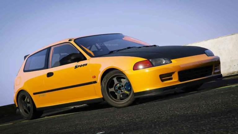 Honda Civic SIR (EG6) Mod BUSSID