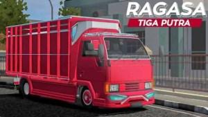 Download Mitsubishi Ragasa N4 Tiga Putra Mod BUSSID, Mitsubishi Ragasa N4 Tiga Putra, ALDOVADEWA, BUSSID Truck Mod, BUSSID Vehicle Mod, Mitsubishi
