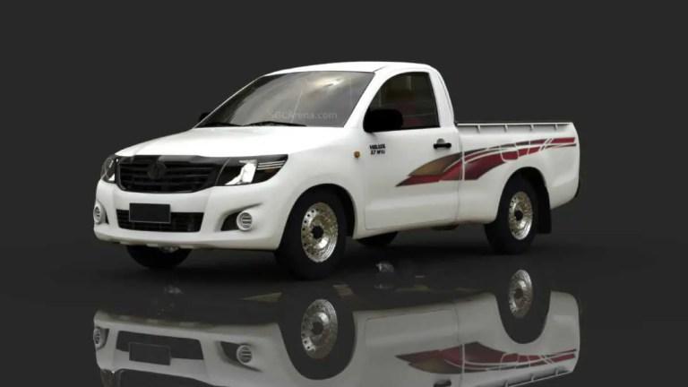 Toyota Hilux Mod BUSSID