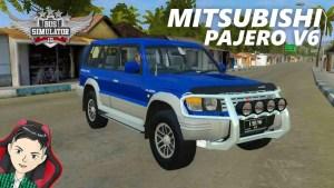 Download Mitsubishi Pajero V6 Mod BUSSID, Mitsubishi Pajero V6, BUSSID Car Mod, BUSSID Vehicle Mod, MAH Channel, Mitsubishi, Pajero Mod