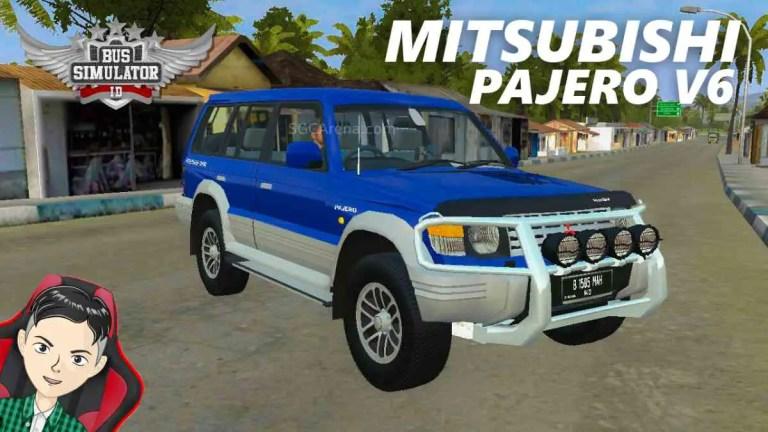 Mitsubishi Pajero V6 Mod BUSSID