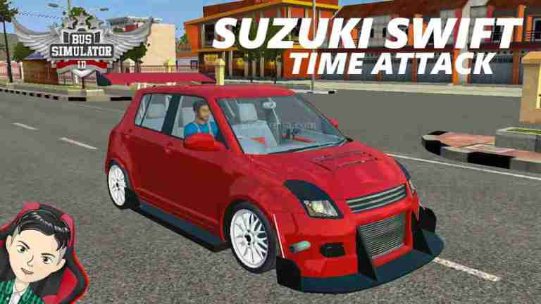 Suzuki Swift Time Attack Mod BUSSID