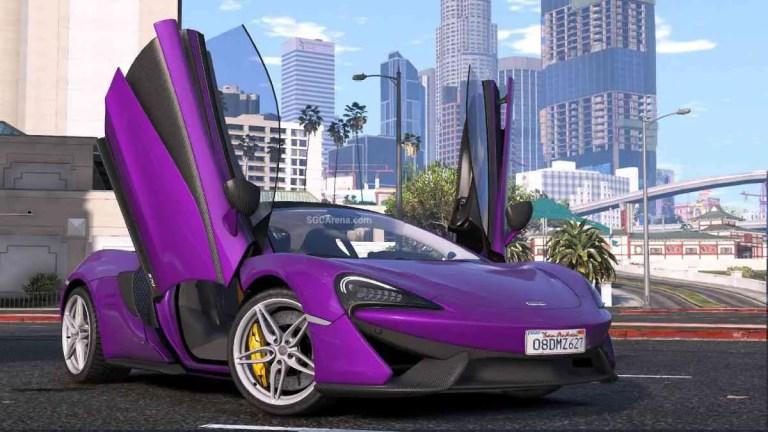 McLaren 570S Mod BUSSID