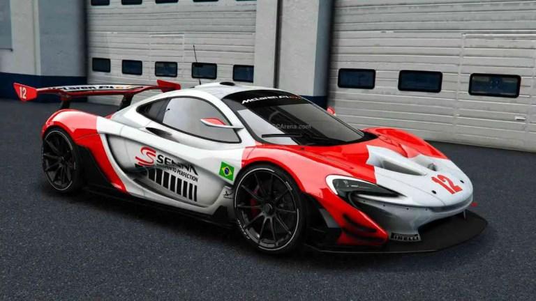 McLaren P1 GTR Mod BUSSID