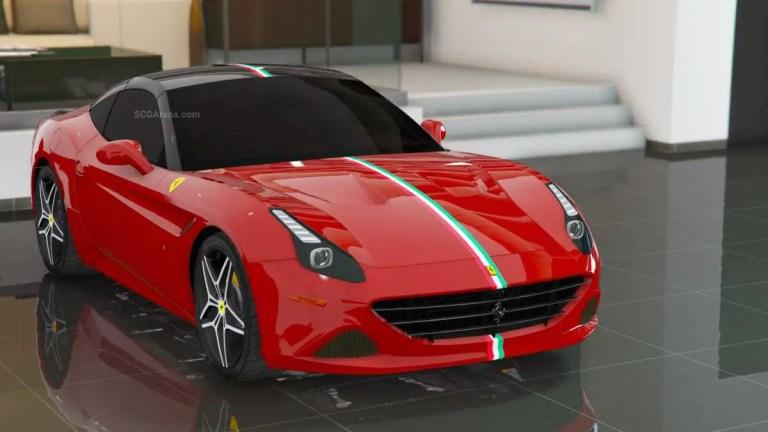 2015 Ferrari California Mod BUSSID