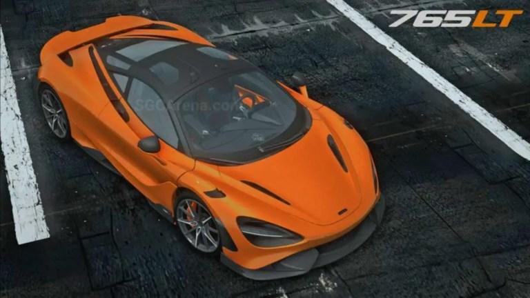 2020 McLaren 765LT Mod BUSSID