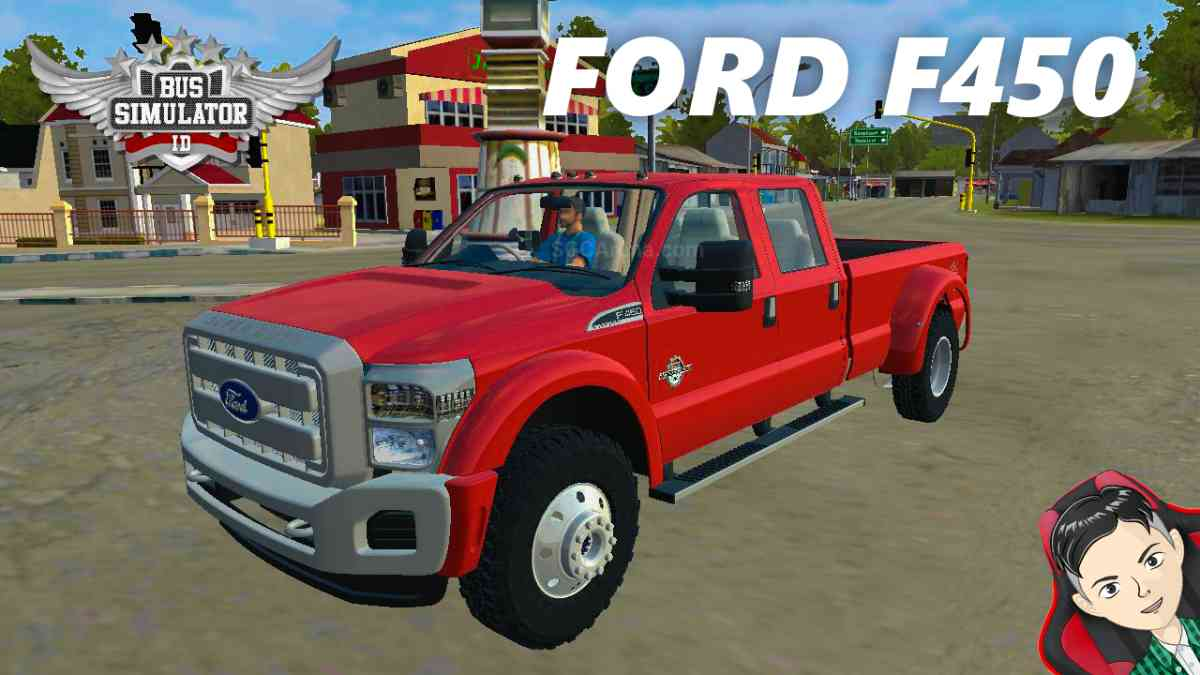 Download Ford F450 Super Duty 2013 Mod BUSSID, Ford F450 Super Duty 2013, BUSSID Truck Mod, BUSSID Vehicle Mod, Ford, MAH Channel