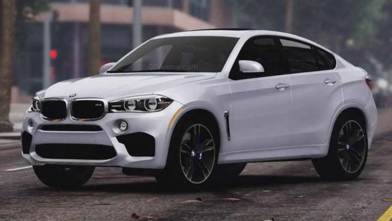 BMW X6M F16 Mod BUSSID